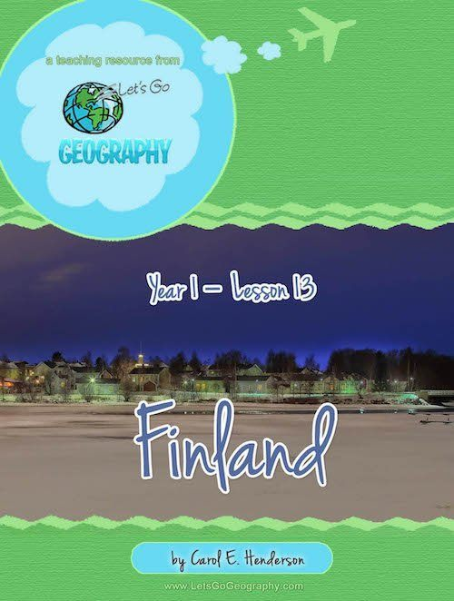 Homeschool Geography, Europe, Iceland
