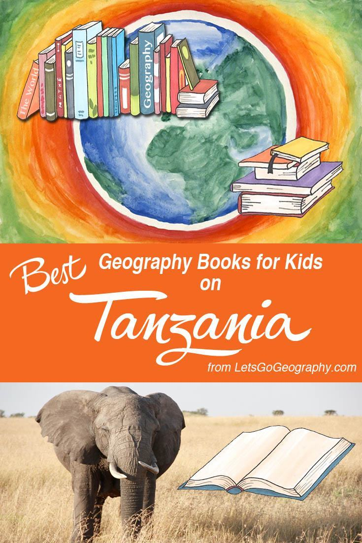 Geography School Book Cover Ideas : Good books on tanzania for kids lets go geography