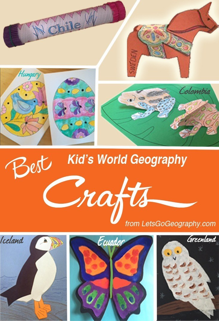 Best World Geography Crafts for Kids