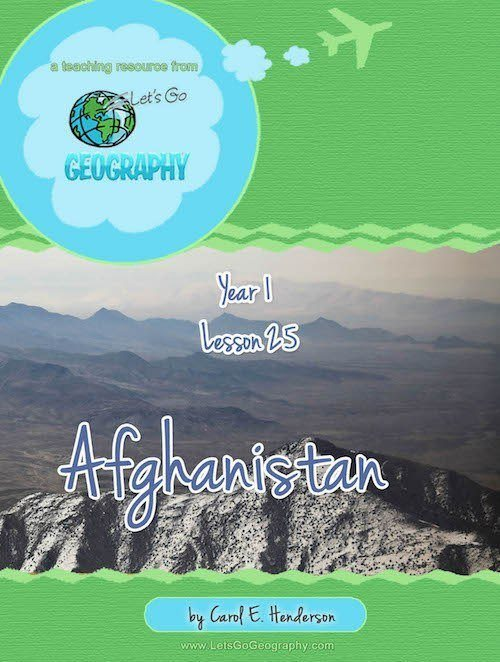Afghanistan Geography Unit for Kids