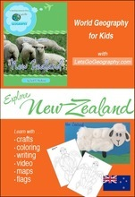 Geography for Kids: NewZealand
