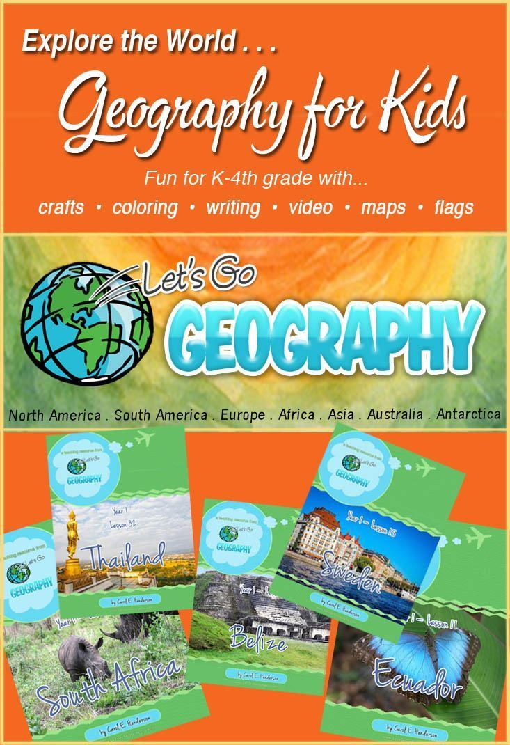 Geography Curriculum for Homeschool