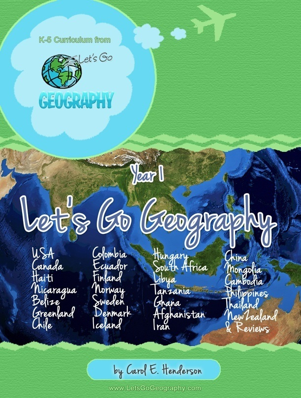 Let's Go Geography Curriculum for K-5th grade