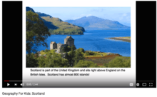 (VIDEO) Geography for Kids: Scotland