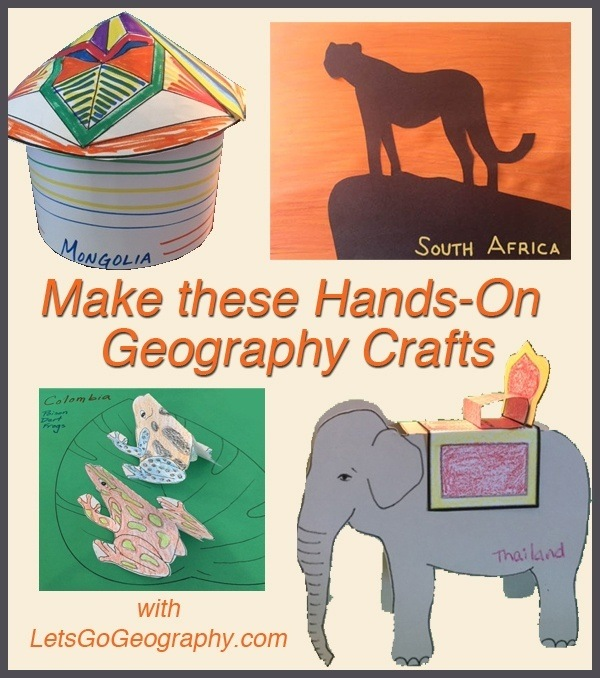 Hands-On History Crafts with LetsGoGeography.com