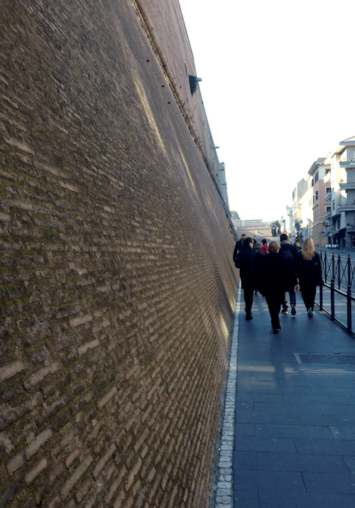 The Wall of Vatican City