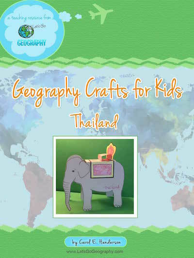 Geography Crafts for Kids:  Thailand