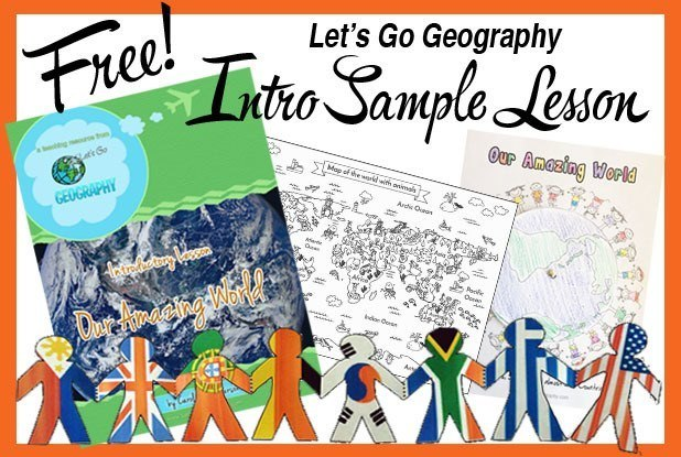 Free Sample Geography Lesson: Our Amazing World