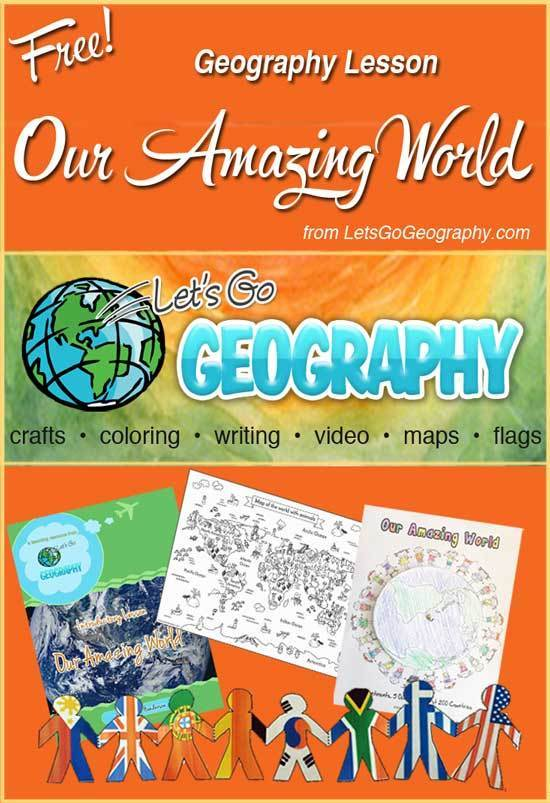 Free Geography Lesson: Our Amazing World