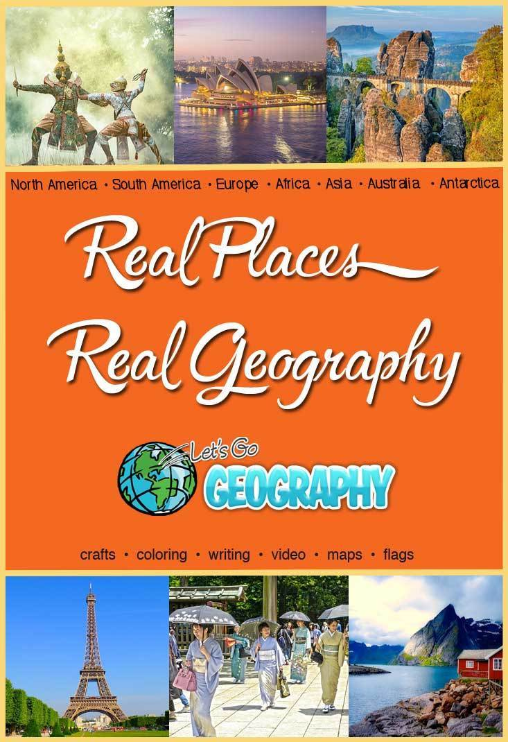Get the award-winning homeschool Geography Curriculum for K-5th grades. Kids learn a new country every week with hands-on activities for every learning style. No more boring worksheets! Share with friends! #homeschoolgeographyelementary #homeschoolgeographycurriculum #homeschoolgeographylessonplans #homeschoolgeographychildren #homeschoolgeography #makinggeographyfun #letsgogeography