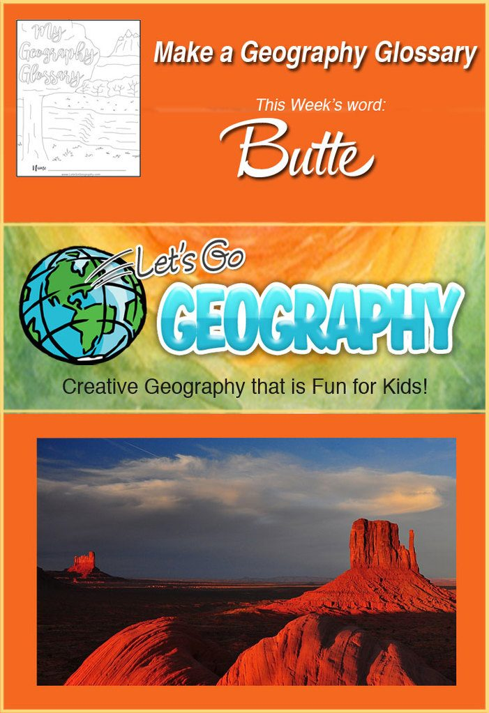 What is a Butte?