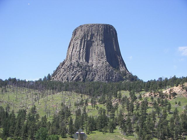 Butte | Devil's Tower, Wyoming