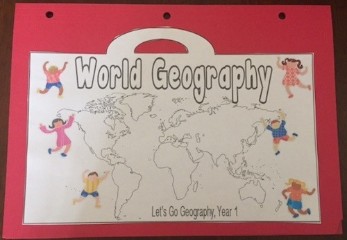 Let's Go Geography curriculum Review Craft
