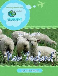 Geography for Kids, New Zealand