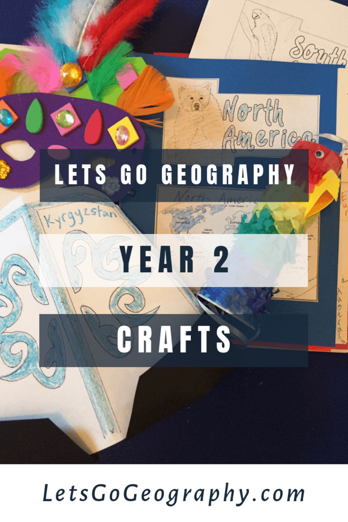 Lets Go Geography Year 2 Crafts