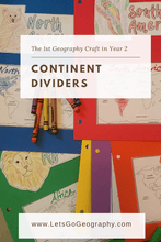 Geography Continent Dividers