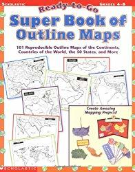 Super Book of Outline Maps to use with the geography curriculum