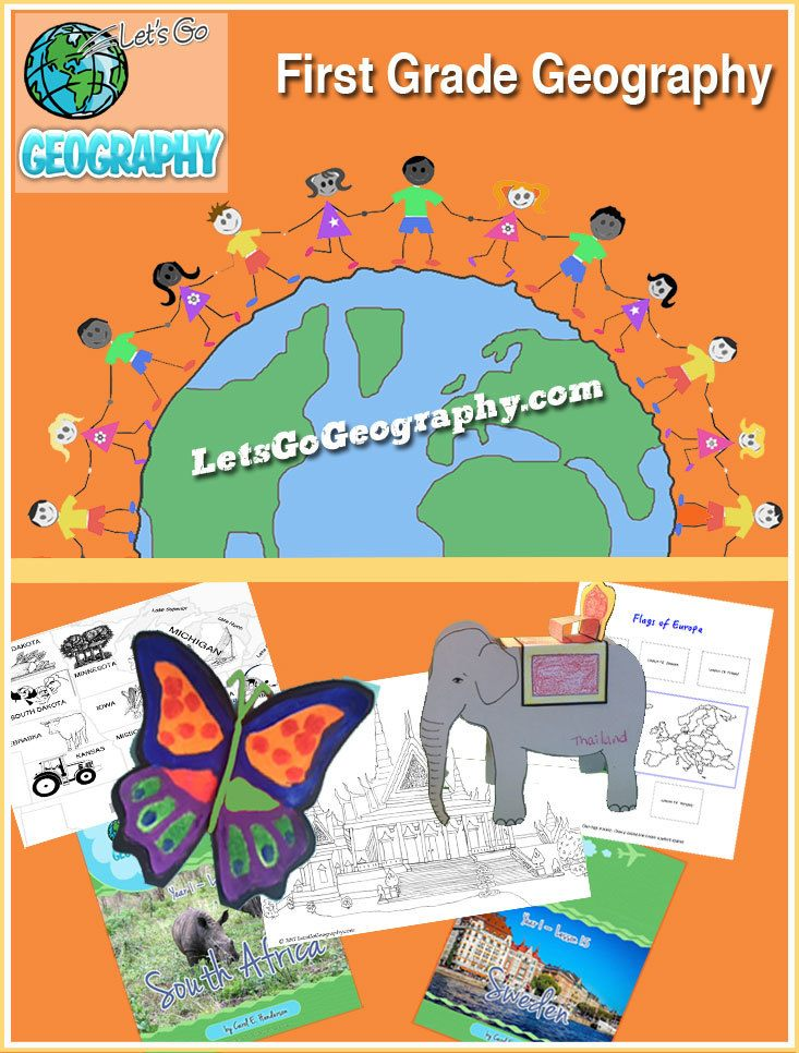 First Grade Geography