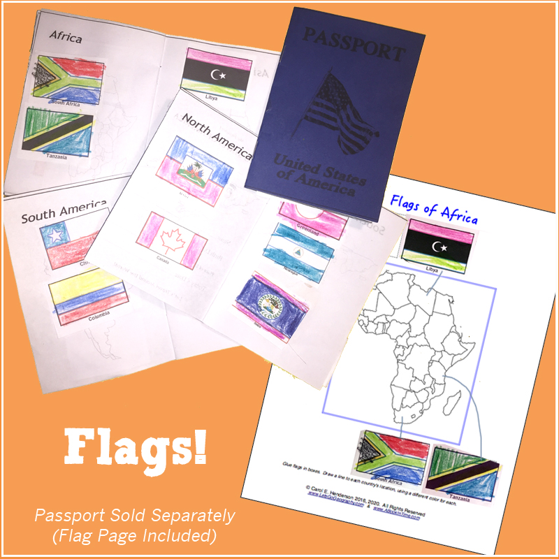 Geography Flags Square 4