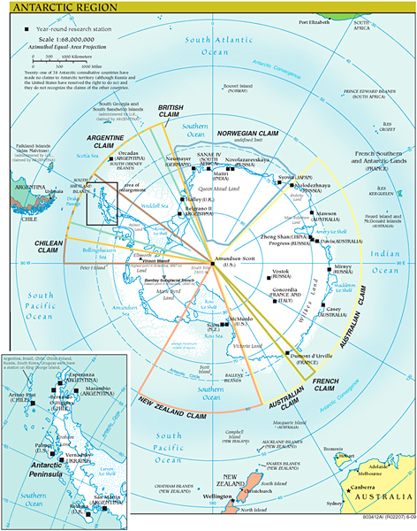 geography of Antarctica