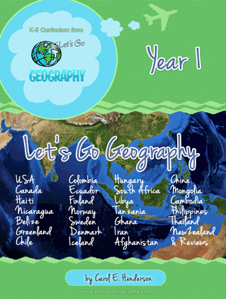 Lets Go Geography Year 1