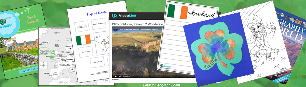 See what's in a  kids geography lesson from Let's Go Geography.com!