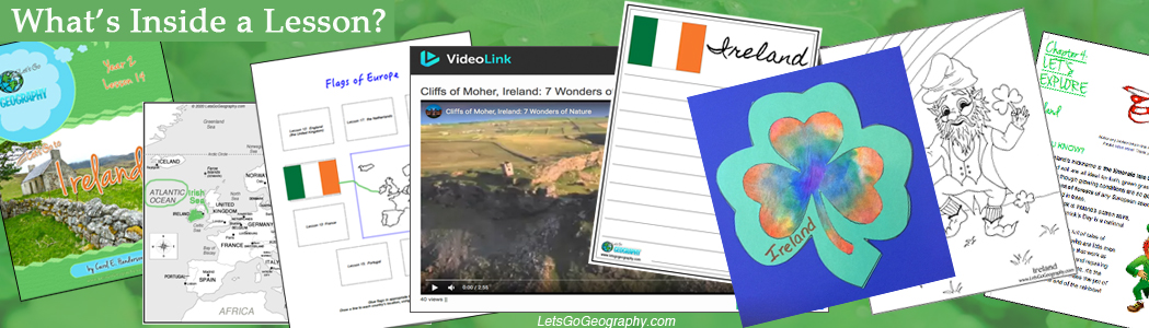 Let's Go Geography for kids has so many hands-on projects in every lesson! Share with friends! #letsgogeography #geographyforkids #geographycurriculum