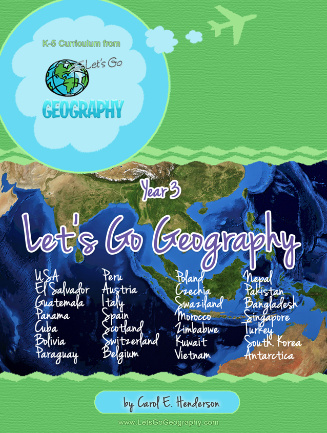 Year 3 Let's Go Geography curriculum for Grades K-5